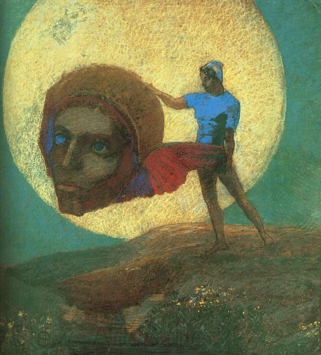 Odilon Redon The Fall of Icarus